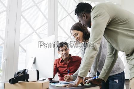unternehmen personen arbeiten
