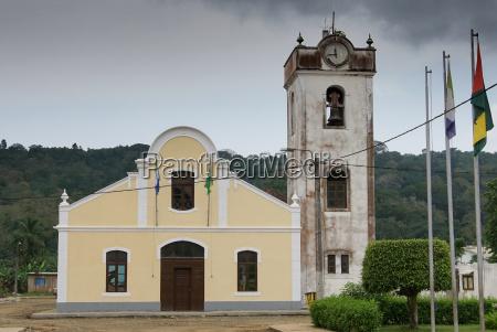 kirche von santo antonio principe island