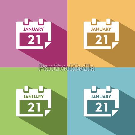 kalendersymbol fuer veranstaltungen