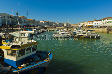 fishing boats and yachts in the