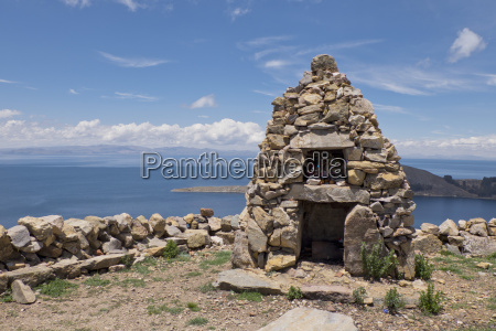 traditional inca first nation stone altar