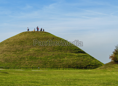 krakus mound podgorze district cracow lesser