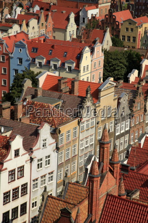 old town of gdansk gdansk pomerania