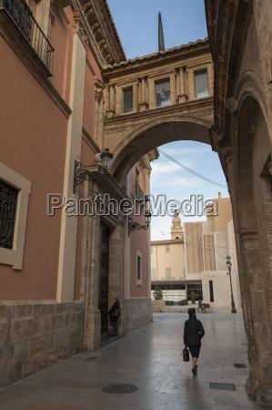 arch of la calle de la