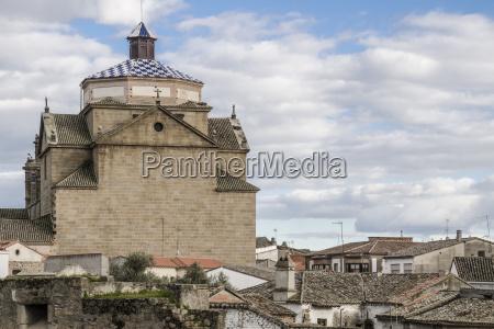 view from the parador de oropesa