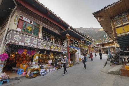 tibetan village jiuzhaigou nine village valley