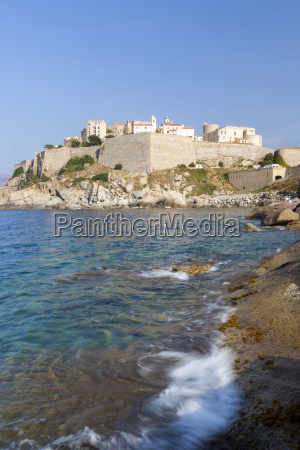 the old fortified citadel on the