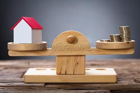 modell home und muenzen ausgleich auf
