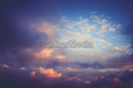 cloudy sky weather panorama background