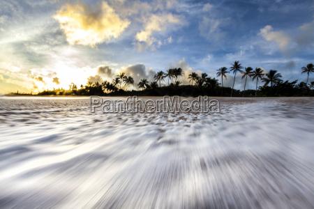 wolke strand sonnenaufgang usa sonnenlicht horizontal
