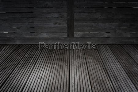 dark gray wooden corner background