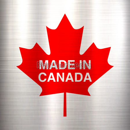 made in canada metallic texture