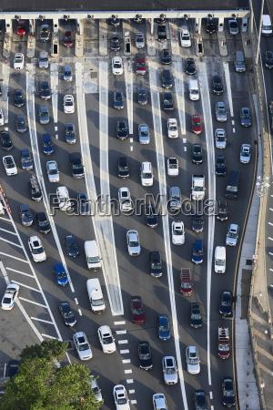 usa new jersey rush hour traffic