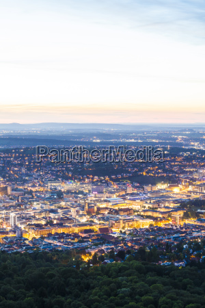 deutschland 2c erleuchtet city