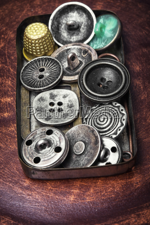 old fashioned button vintage