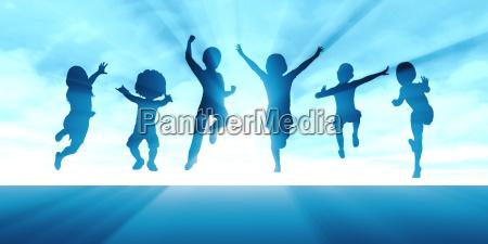 aktiver lebensstil fuer kinder