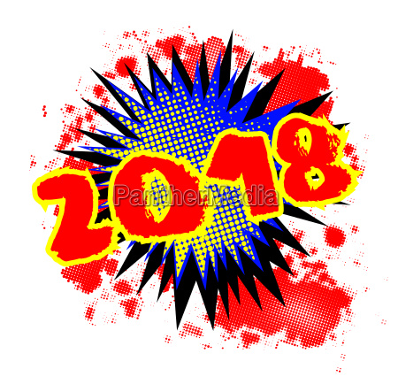 2018 comic exclamation