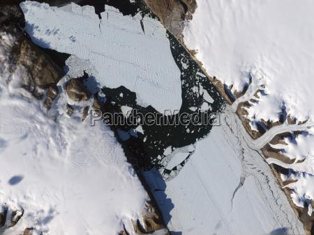umwelt space groenland weltraum horizontal gefroren