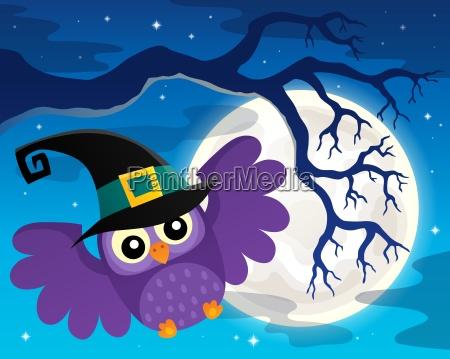 halloween owl topic image 1