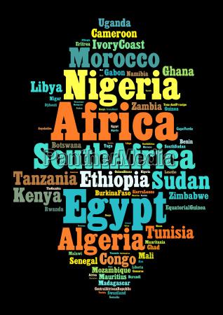 nationen in afrika