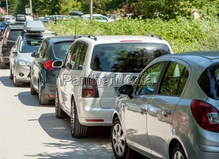 park verkehr verkehrswesen auto automobil personenkraftwagen