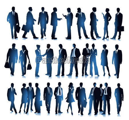 group picture of diverse business people
