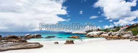 beautiful boulders beach landscape
