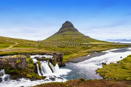 kirkjufell berg island