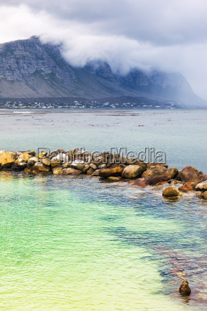 amazing view on the bettys bay