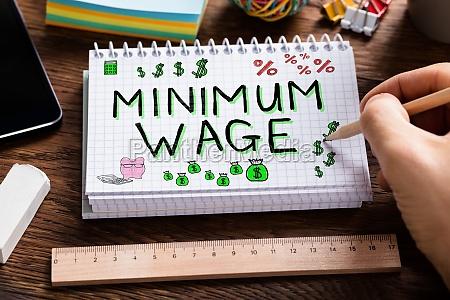 mindestlohn und soziale sicherheit