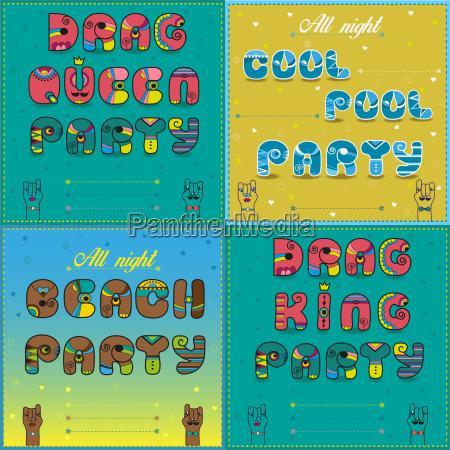 strand party feier fest kuehl kuehlen