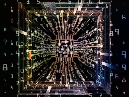 paths of digital processor