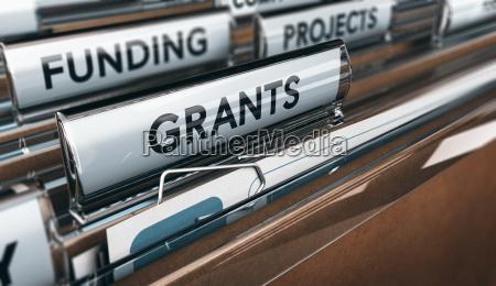seeking grants for an association a