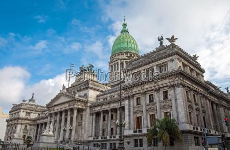 der kongresspalast in buenos aires argentinien