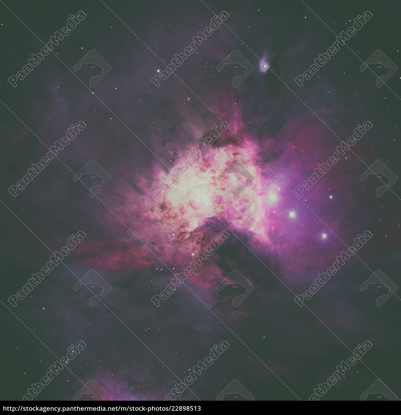 The Orion Nebula is a nebula in the constellation of ...