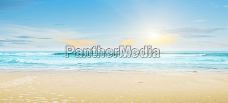 tropische strand sommerlandschaft