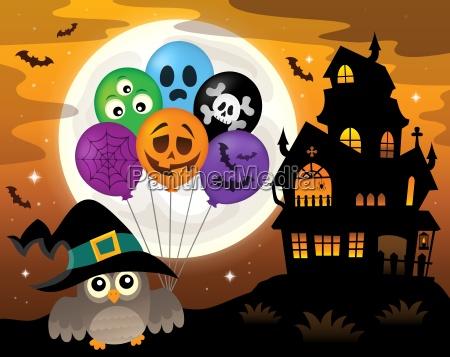 halloween eule thema bild 3