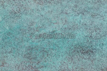 gruene patina aus kupfer struktur
