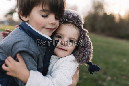 close up of young boy with