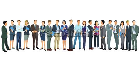 gruppenbild von frauen und maennern