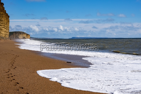 jurassic coastline bei lyme regis