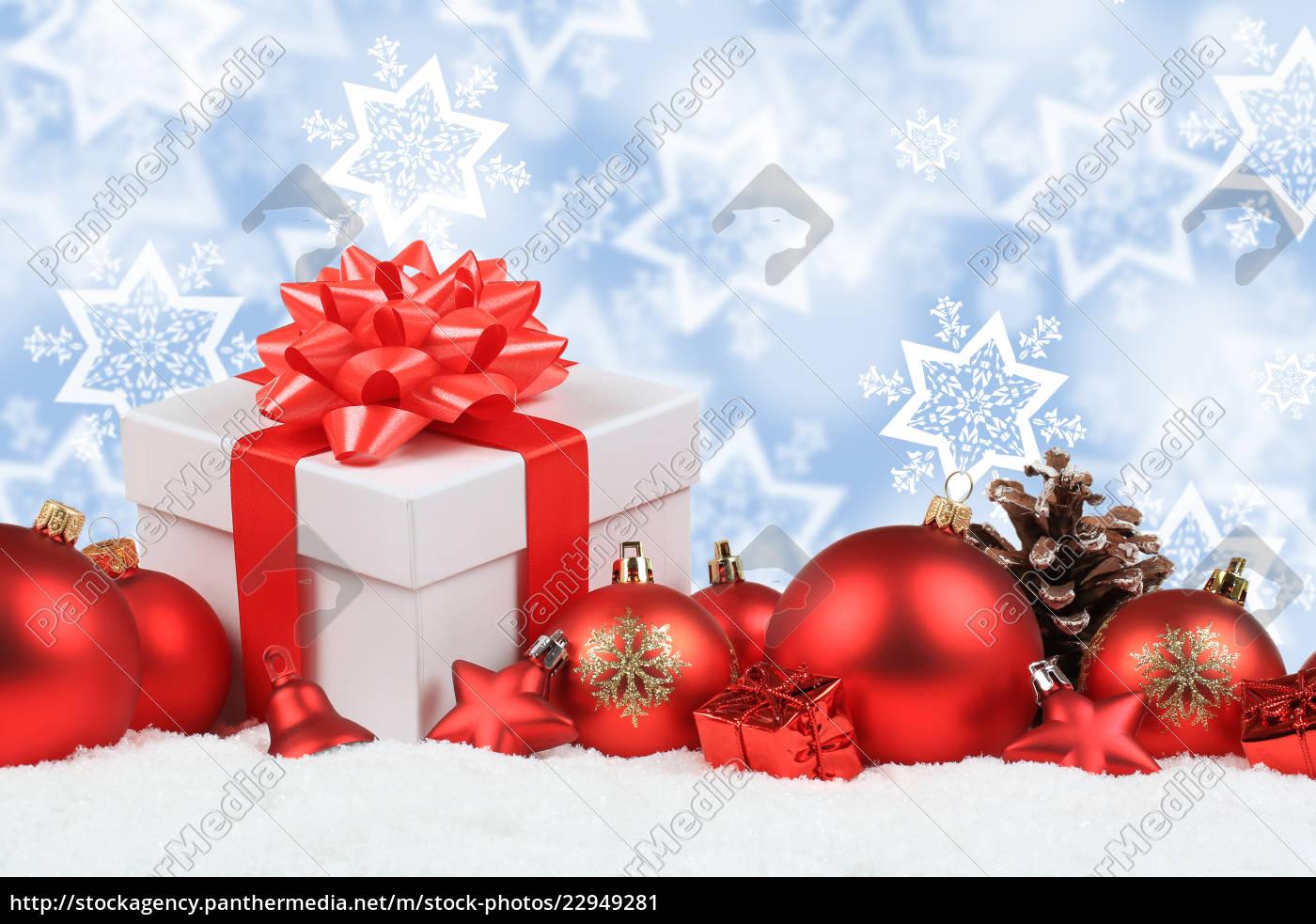 Weihnachten Geschenke Weihnachtsgeschenke Dekoration Lizenzfreies Bild 22949281 Bildagentur Panthermedia
