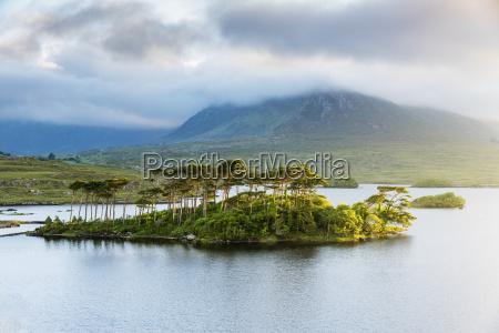 pine island on derryclare lake connemara