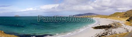 panoramablick von prinzen strand coileag a