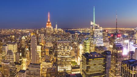 manhattan skyline new yorkskyline empire state