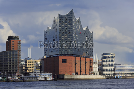 elbphilharmonie building hamburg germany europe