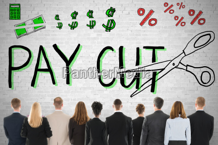 business people standing against white background