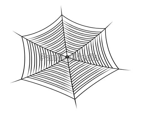 halloween spinnennetz spinnennetzsymbol ikone vektor illustration