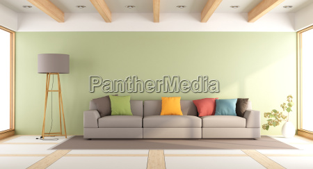 buntes modernes wohnzimmer