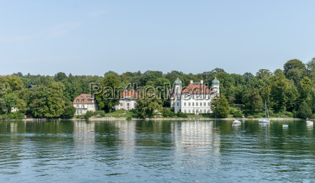 castle ammerland at lake starnberg